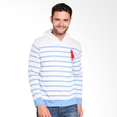 POLO RALPH LAUREN Men Sweater - Fall Royal White - X43IH3EM9FG