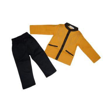 verina-baby_verina-baby-bordir-setelan-baju-koko-anak-laki-laki---kuning_full02 Kumpulan Daftar Harga Jual Baju Koko Anak Remaja Terbaik tahun ini