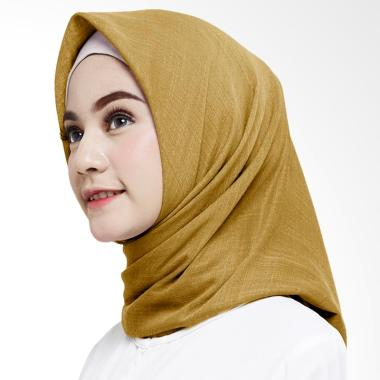 Cotton Bee Canary Ayana Square Hijab