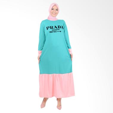 Edberth Fashion Elysia Long Dress Muslim Wanita - Green
