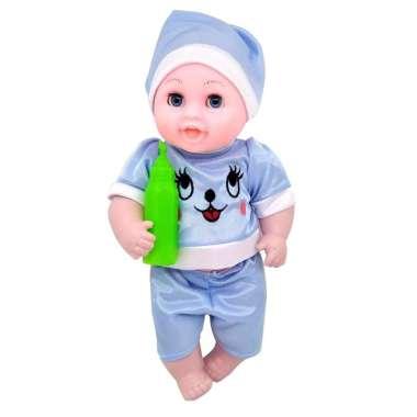 harga Lovely Baby Boneka Bayi Dot Bisa Bicara Mainan Bayi dan Anak BIRU Blibli.com