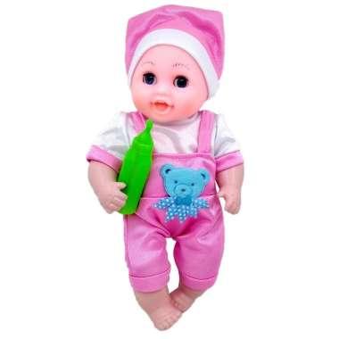 harga Lovely Baby Boneka Bayi Dot Bisa Bicara Mainan Bayi dan Anak PINK Blibli.com