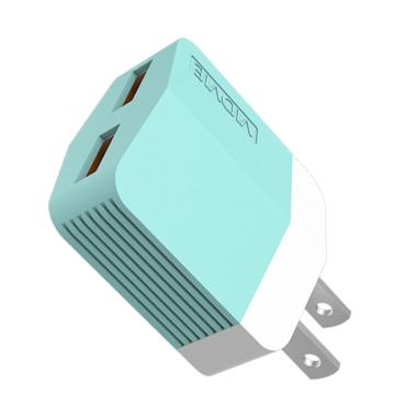 VIDVIE PLM303 2 USB Port Micro Charger with Data Cable