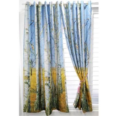 KONG Curtains BO 3D 8305 Gorden - Biru [12 Lubang/ Tanpa Tali]