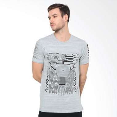 XTRAORDINARY Obl T-Shirt Pria - Misty Green [238780141]