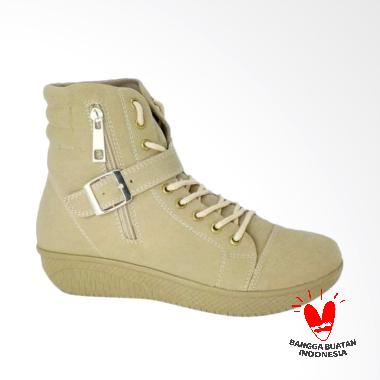 Aluz NFL 183 Sepatu Boot Wanita - Cream