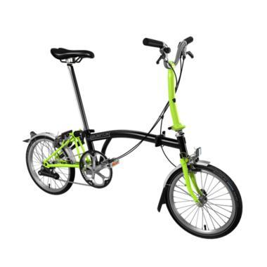 Brompton Sepeda Lipat [M2L 2018]