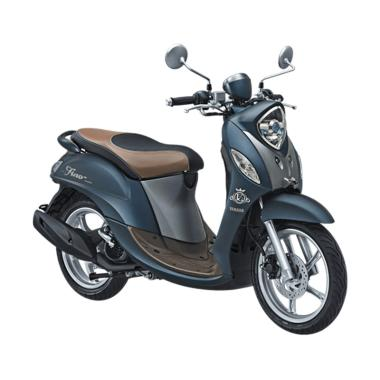 Yamaha New Fino Grande 125 Blue Core Sepeda Motor [VIN 2018/ OTR Jawa Tengah]