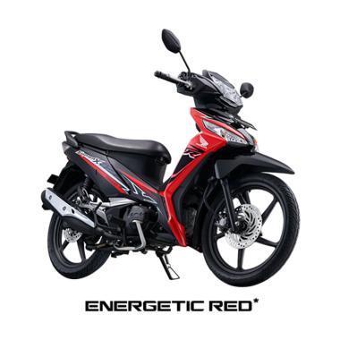 Honda New Supra X 125 Fi Sporty Luxury Sepeda Motor [VIN 2018/ OTR Jawa Timur]