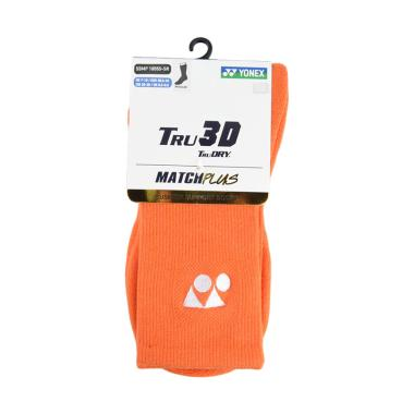 YONEX Regular Kaos Kaki Olahraga Pria - Orange [SSMP 1855S-SR]
