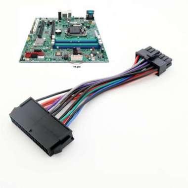 harga NO ONGKIR 1Pc Kabel Adapter Power Supply ATX 24 Pin to 14 Pin PSU untuk Lenovo IBM Blibli.com