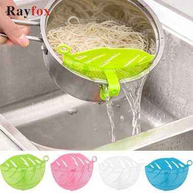 harga VRS Rayfox Filter Penyaring Nasi Rice Washing Leaf Shape - RY122 Biru Blibli.com