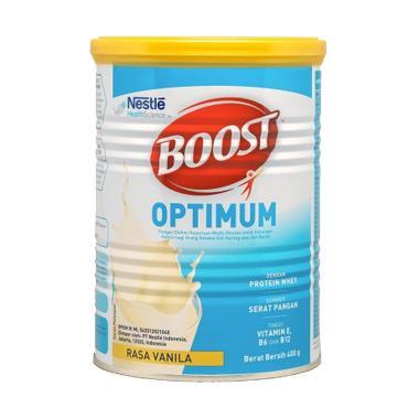 Nestle Boost Optimum Susu Bubuk - Vanila [400 g]
