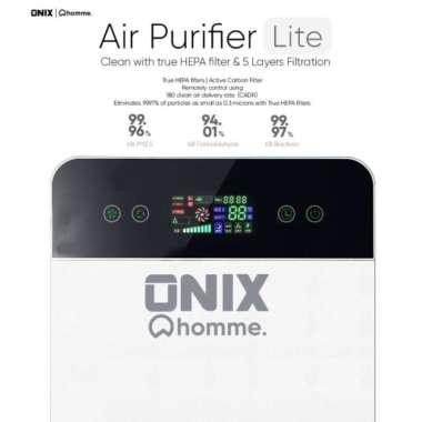 harga Air Purifier Onix Lite Touch Display Pembersih Udara Hepa Filter Multicolor Blibli.com
