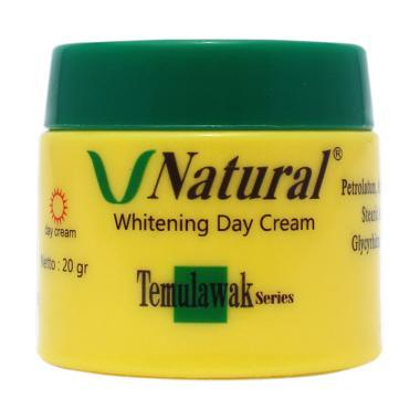 V Natural Temulawak Whitening Day Cream [20 g]
