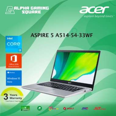 harga Laptop Acer Aspire 5 A514-54-33WF-[Intel Core i3-1115G4/4GB/SSD512/14