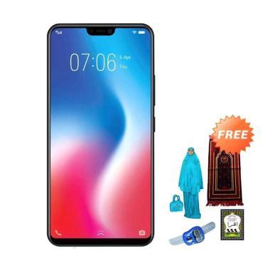 VIVO V9 Pro Smartphone - Hitam [64 GB/ 6B] + Free Paket Sholat Wanita