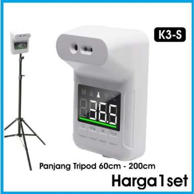 harga Stand Thermometer Tripod K3S termometer infrared dinding Blibli.com