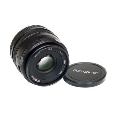 Mcoplus 35mm F1.6 Lensa Kamera for Canon EOS EF-M Mirrorles