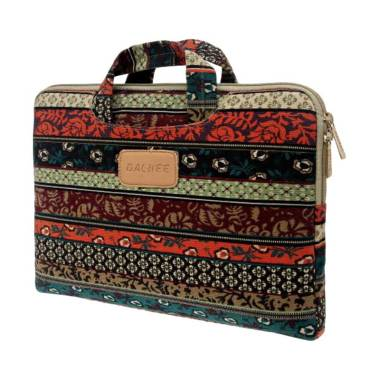 DACHEE Bohemian Softcase Sleeve Tas Laptop [15 - 15.6 inch]