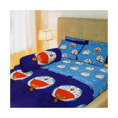 Lady Rose Doraemon Set Sprei - Blue