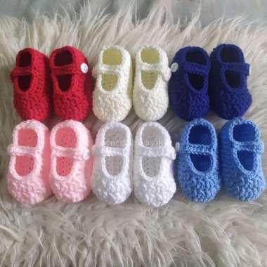 harga FREE ONGKIR basic baby booties newborn sepatu bayi rajut 01 - newborn, Putih Blibli.com