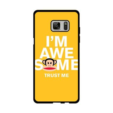 Acc Hp I'M Awesome Paul Frank E1552 Custom Casing for Samsung Note FE