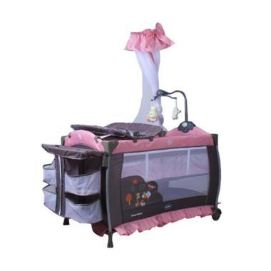 Pliko B 1178 LR Sweet Dream Coffee Tempat Tidur Bayi - Red