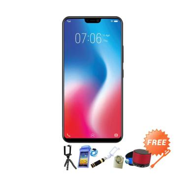 VIVO V9 Pro Smartphone - Red [6GB /64GB] + Free 8
