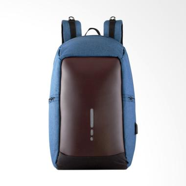 Sollu 08 Antitheft Sollu Elegante Backpack Pria
