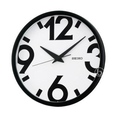 Seiko QXA476A Quiet Sweep Wall Clock Jam Dinding - White  31 cm  4e57d0bc7a