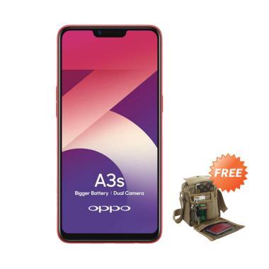 OPPO A3S Smartphone [16GB/ 2GB] + Free Tas Slempang