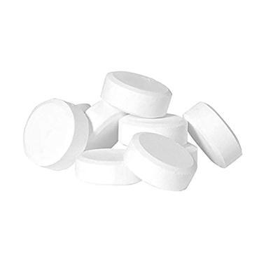 Rendys Chem 90% Chlorine Kaporit Tablet Besar untuk Kolam air Penjernih Air [1 kg]