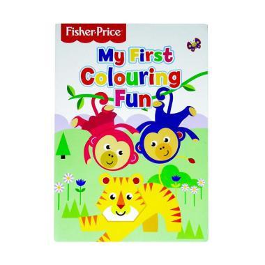 harga Autumn Publishing Genius Fisher Price My First Colouring Fun Buku Anak [Cover Monkey] Blibli.com