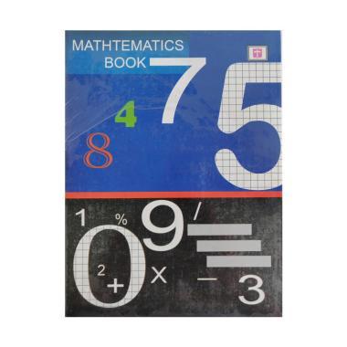 Tiara Buku Matematika Kotak Kecil [38 Lembar / 10 Buku] - Math Book Matematik Kotak Kotak - Bukan Sidu Sinar Dunia Kiky Big Boss