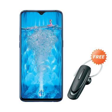 harga OPPO F9 Smartphone [4 GB/ 64 GB] + Free Headset Bluetooth Blibli.com