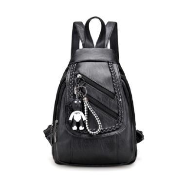 Fashion Backpack Tas Ransel Wanita + Free Gantungan Kunci