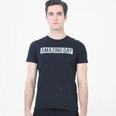 Manzone Slim fit Axel T-Shirt Pria