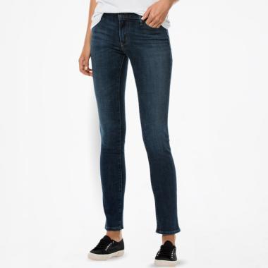 Levi'S 712 18884-0098 Slim Heart Of Glass Celana Jeans Wanita - Navy
