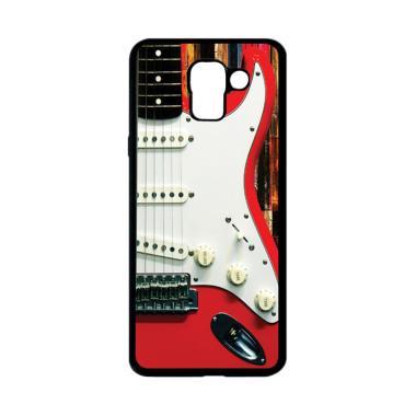 harga CARSTENEZIO Motif Unik Gitar Listrik 4 Softcase Casing for Samsung Galaxy J6 - Hitam Blibli.com