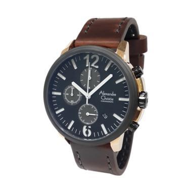 Jam Tangan Alexandre Christie Untuk Pria Bertali Kulit