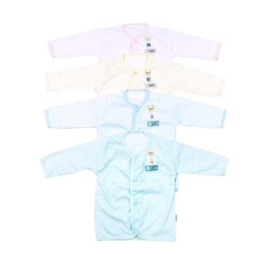 Fluffy BJS SLR Baju Panjang Bayi [4 Pcs]