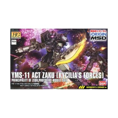 HG 1//144 YMS-11 ACT ZAKU KYCILIA/'S FORCES Gundam Model Kit Water Slide Decal