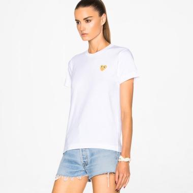 4c9e80d927 Comme des Garcons PLAY Reverse Heart T-Shirt wanita. Rp 1.650.000 · Comme  ...
