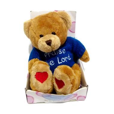 ORIGINAL Teddy Bear Original Precious Thought Praise The Lord Boneka   Original  2831544f5a