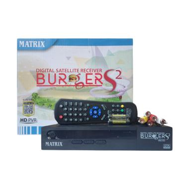 Matrix Burger HD S2 AVS+ Receiver Parabola