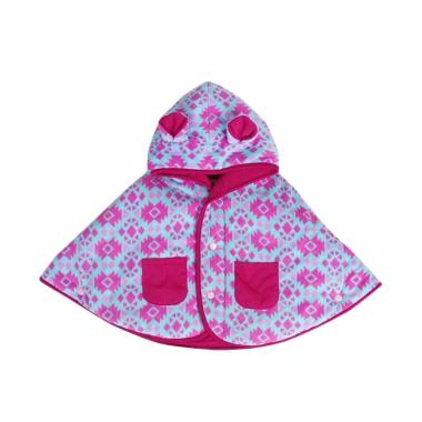 Cuddle Me Baby Cape Jaket Bolak Balik - Aztec Pink