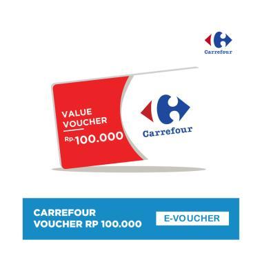 harga Carrefour Value E-Voucher [Rp 100.000] Blibli.com