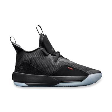 NIKE Air Jordan XXXIII PF Blackout Sepatu Basket ... e0b5a721bc