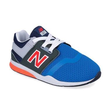 New Balance 247 J Crew Boys Shoes [NEWKA247HWP]